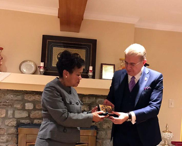 New Haven Belediye Başkanı Toni N.Horp ile Akşam Yemeği