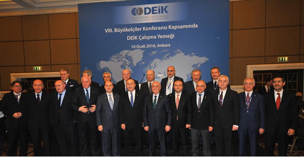 8.Büyükelçilikler Konferansı Gerçekleşti