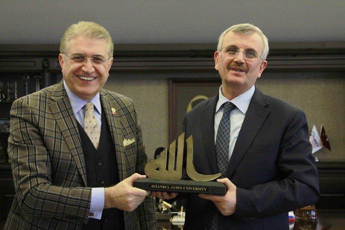 Sağlık Bilimleri Üniversitesi Rektörü Erdöl'den İAÜ'ye Ziyaret