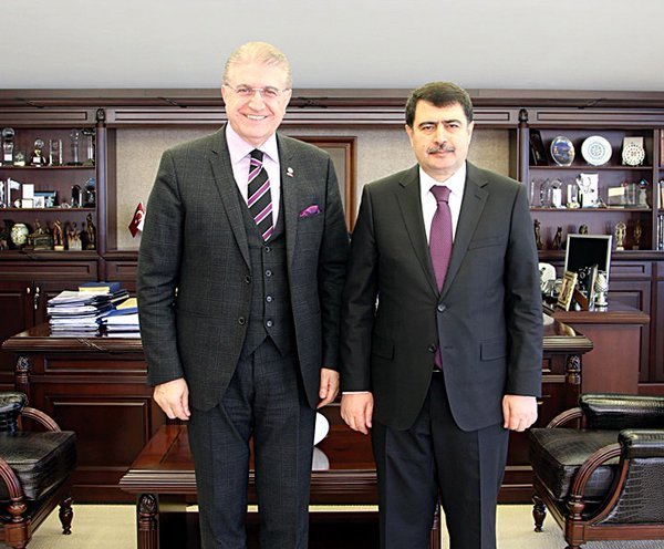 İstanbul Valisi Vasip Şahin'den İAÜ'ye Ziyaret