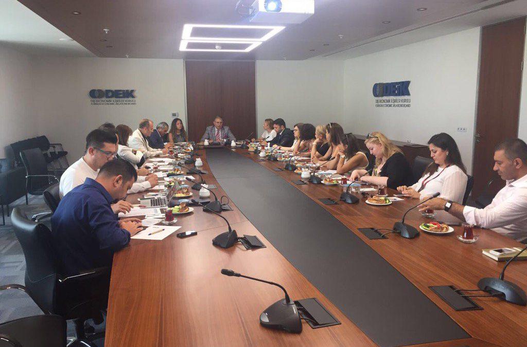 Eğitim Ekonomisi İş Konseyi Toplantısı