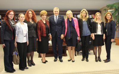 Romanya Dimitrie Cantemir Üniversitesi Heyetin'den Ziyaret