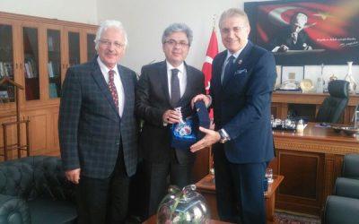 İstanbul İl Milli Eğitim Müdürü Yelkenci'ye Ziyaret