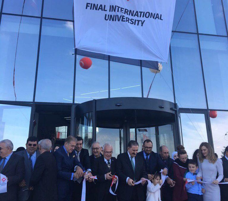 Dr.Aydın Uluslararası Final Üniversitesi Açılışına Katıldı