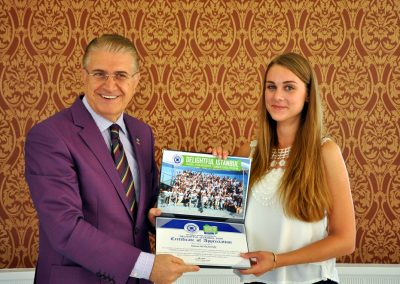 27.08.2015 SUMMER SCHOOL CERTIFICATION CEREMONY