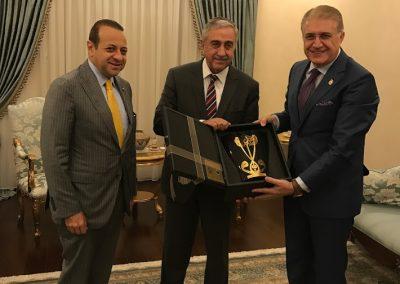 KKTC Cumhurbaşkanı Mustafa Akıncı - 23.08.2017