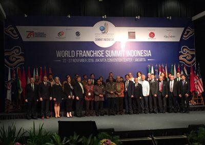 WORLD FRANCHISING SUMMIT ENDONESIA - 27.11.2016