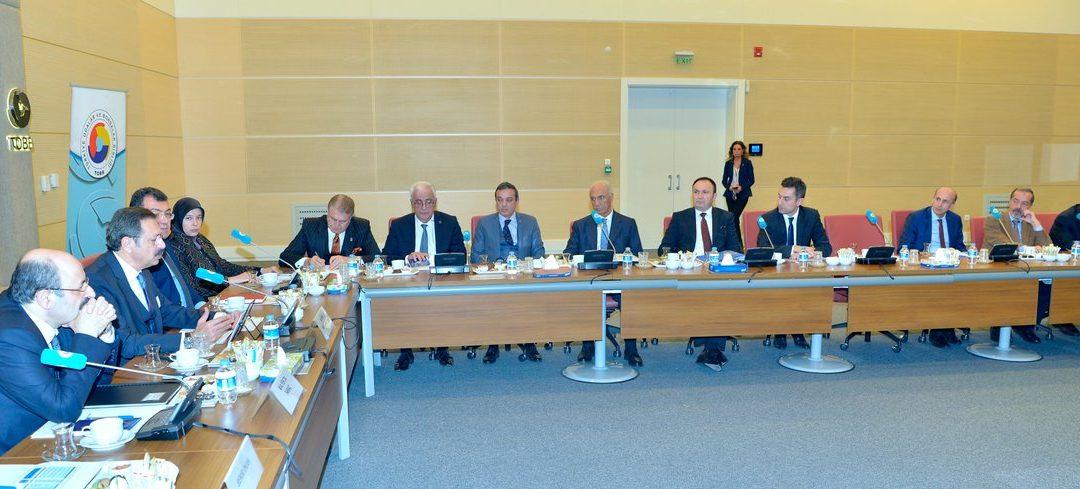 Dr. Aydın, TOBB Türkiye Yükseköğretim Meclisi Toplantısına Katıldı