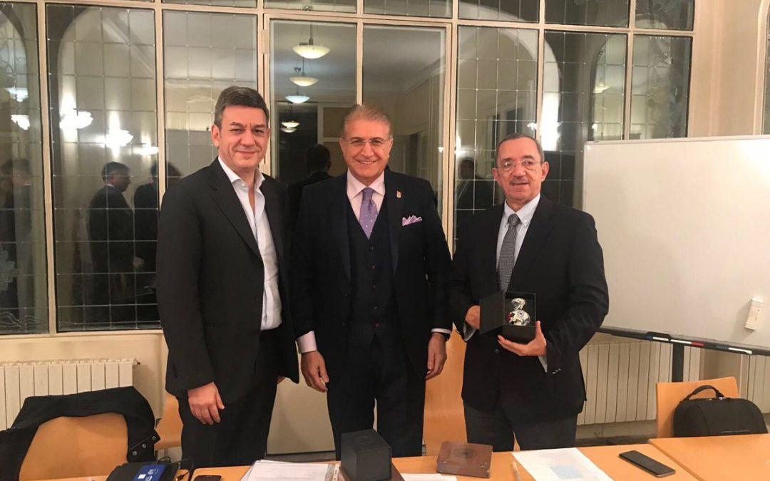 Dr. Mustafa Aydın, Mülteci Eğitimi İçin Paris'teydi