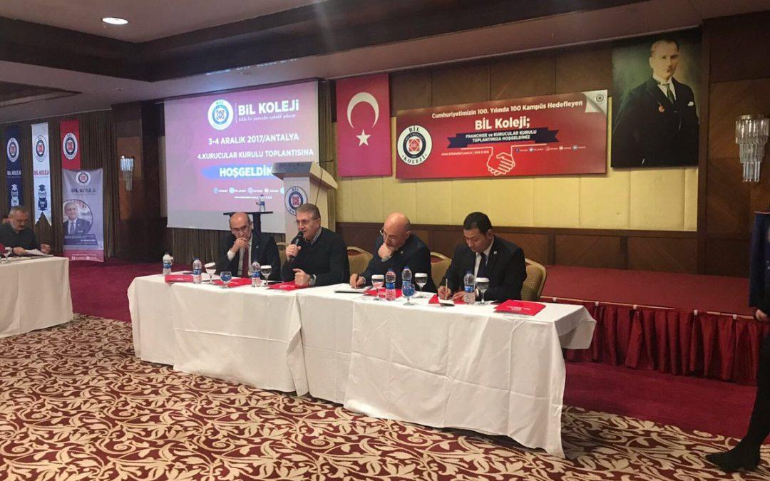 BİL Okulları Franchise Toplantısı Antalya'da Gerçekleştirildi