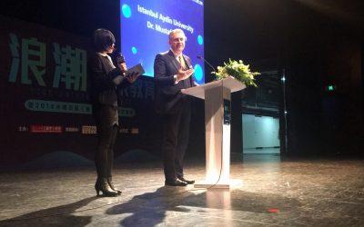 Çin'den Dr. Mustafa Aydın'a 'Geleceğin Eğitimcisi' Ödülü