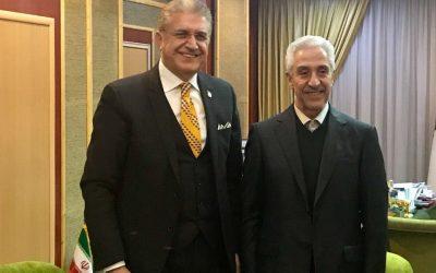 Dr. Mustafa Aydın'ın İran Ziyareti