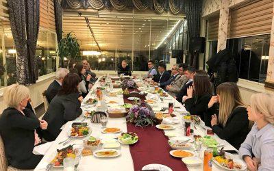 Dr. Mustafa Aydın Bölge Temsilcileri İle Buluştu