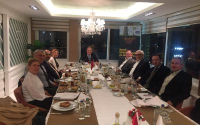 UFRAD Başkanı  DR. Mustafa Aydın EFF Toplantına Katıldı