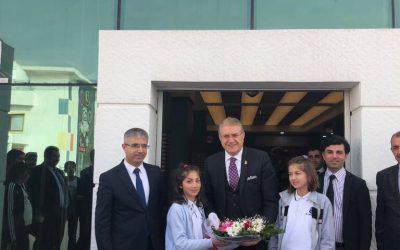 Dr. Mustafa Aydın, BİL Okulları'nı Ziyaret İçin Van'da