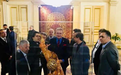 Dr. Mustafa Aydın, Nevruz Dolayısıyla İran Büyükelçiliği'ni Ziyaret Etti