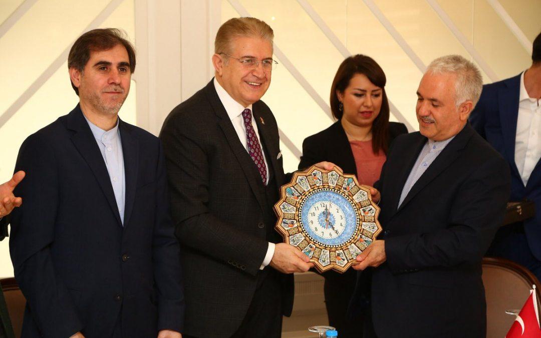 İran İstanbul Başkonsolosu, Dr. Mustafa Aydın'ın Misafiri Oldu