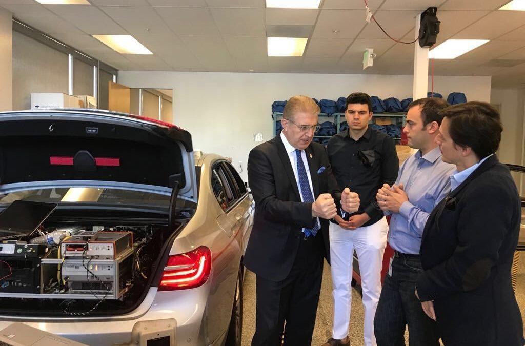 Dr. Mustafa Aydın'ın ABD Seyahati