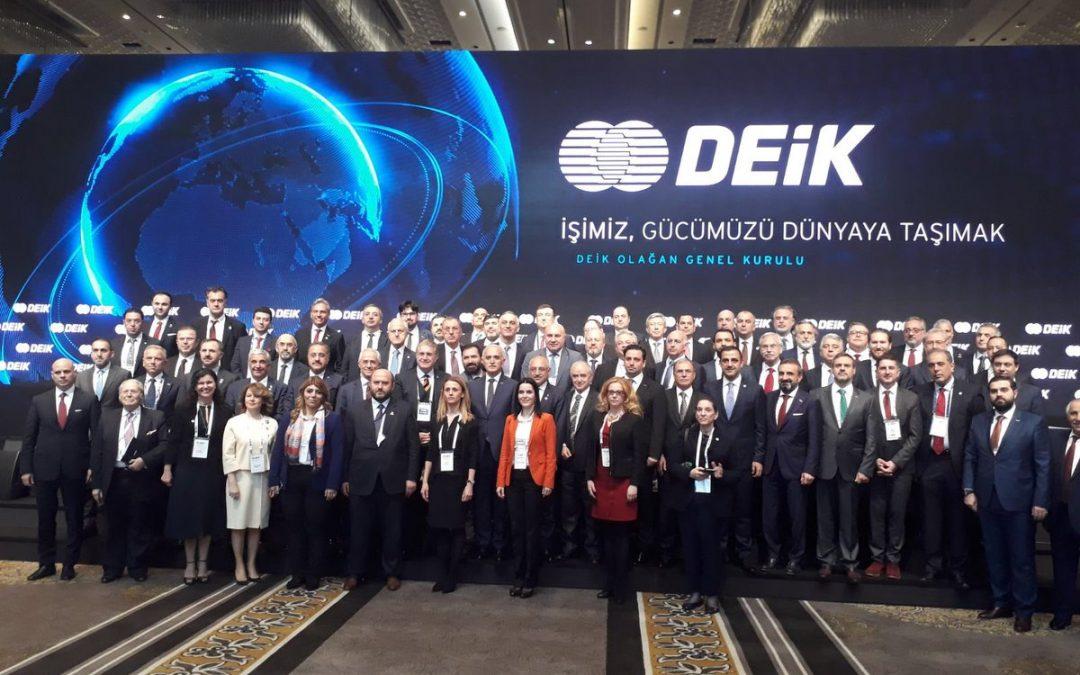 Dr. Mustafa Aydın, DEİK Olağan Genel Kurulu'na Katıldı
