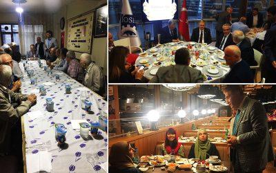 Dr. Mustafa Aydın, Ramazan İftarlarına Katılmaya Devam Ediyor