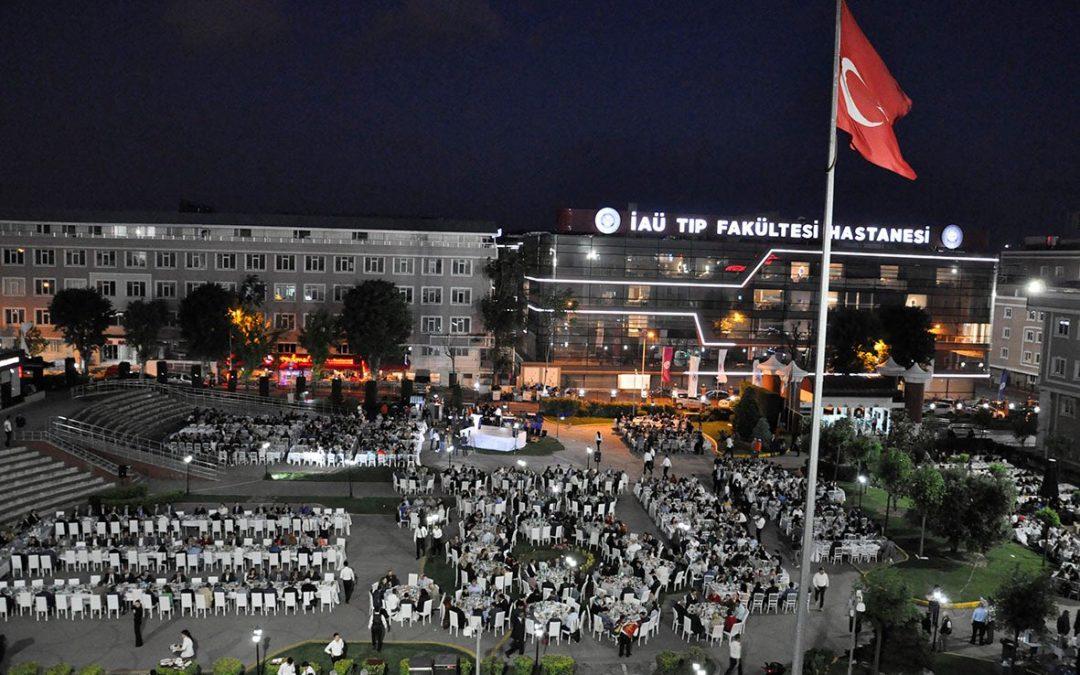 İstanbul Aydın Üniversitesi Geleneksel İftarı Gerçekleşti