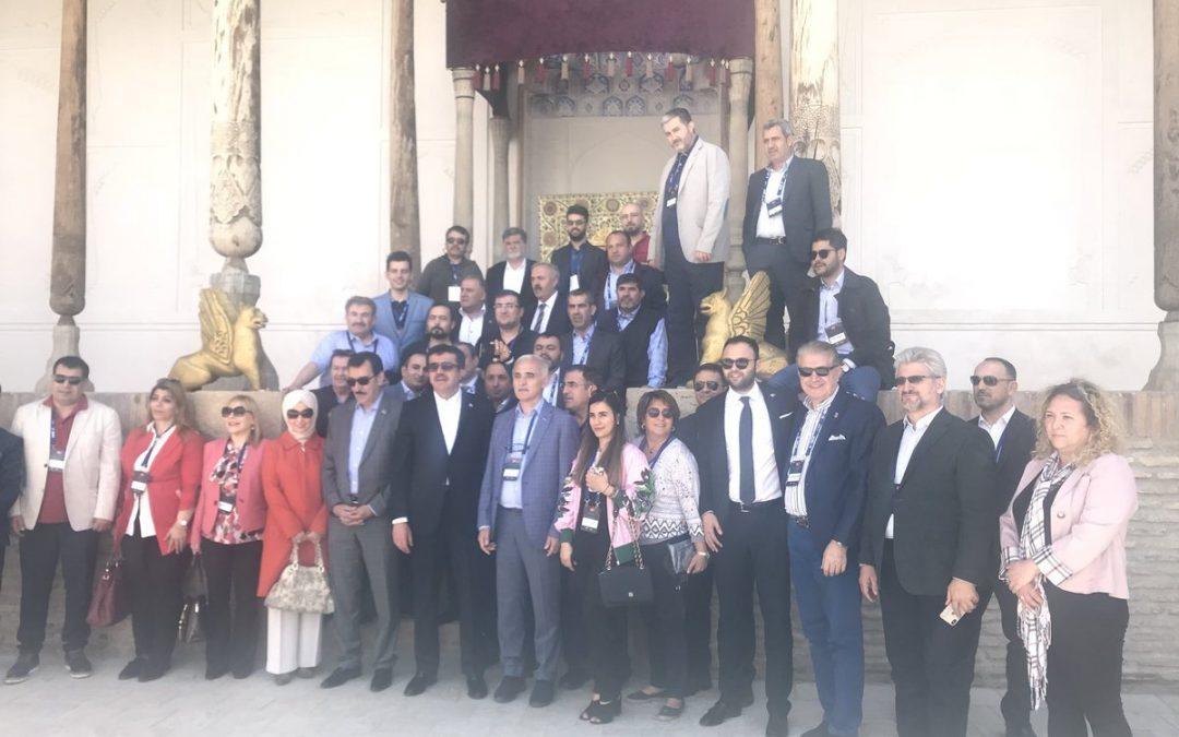Dr. Mustafa Aydın, Özbekistan ve Güney Kore'de