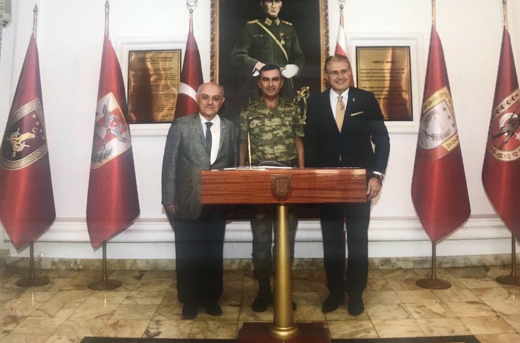 DR. MUSTAFA AYDIN'DAN KIBRIS TÜRK BARIŞ KUVVETLERİ'NE ZİYARET
