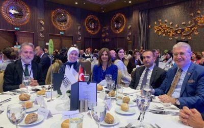 Doç. Dr. Mustafa Aydın Büyükelçiler Toplantısı'nda Konuştu