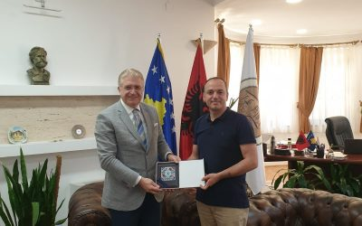 Doç. Dr. Mustafa Aydın Kosova'da Ziyaretlerde Bulundu