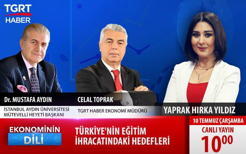 Doç. Dr. Mustafa Aydın: Hedef 2023'de 350 bin uluslararası öğrenci