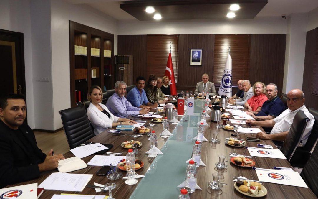 TSSD Doç. Dr. Mustafa Aydın Başkanlığı'nda toplandı