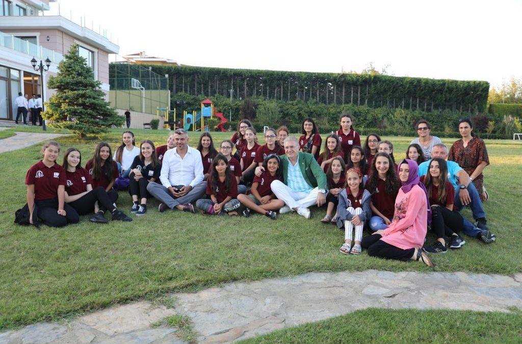 KKTC Karadeniz Kültür Derneği öğrencileri İAÜ'de buluştu
